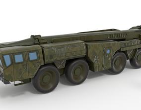 3D arab scud launcher