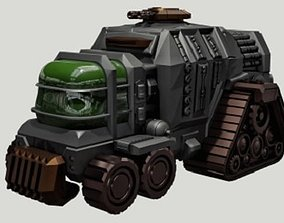 3D print model Armoured Personnel Carrier