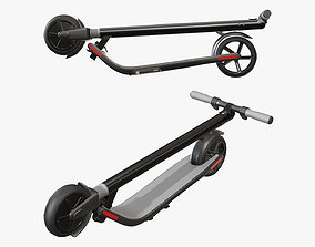 3D Scooter electric 02 folded