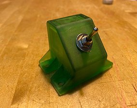 3D printable model Toggle Switch Brackets 45 Degree 1-4 2