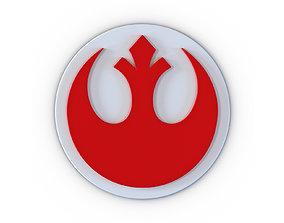 Star Wars Rebels Logo 3D