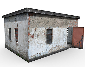Old booth 3D model