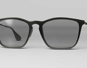 realtime Ray ban sunglasses model VR AR low-poly 3d