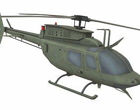 Bell 206 CP 3D asset
