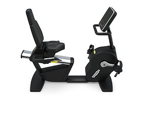 Technogym - Exercise Bike Recline Forma 3D model