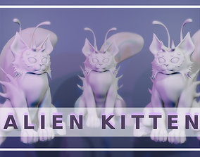 3D printable model Alien Kitten