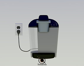 3D simple Coffee Maker