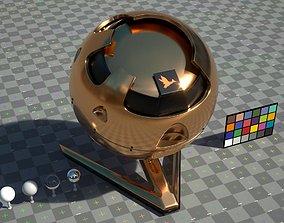 3D model Gold - VRay shader