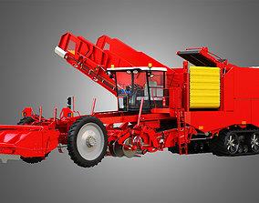 potatoharvester Varitron Potato Harvester 3D