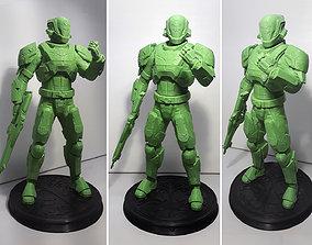 3D print model DESTINY - TITAN ARMOR IRON BANNER YEAR ONE