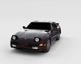 Porsche 944 S rev 3D model