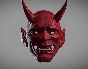 HANNYA MASK 3D print model demonic
