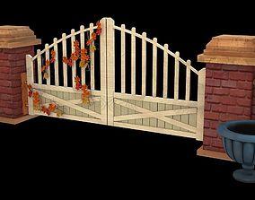 step 3D ranch gate