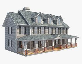 Family House 8 3D model