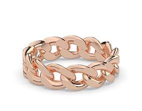 ringformen cuban chain ring 3D print model