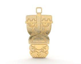 Maori pendant jewelry 04 3D print model