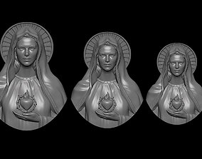 3D printable model Mother Mary