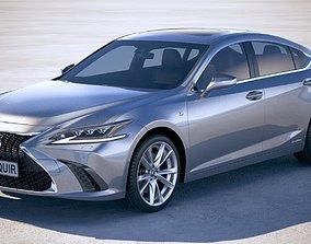 3D Lexus ES 2019