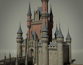 3D model Fantasy Castle land
