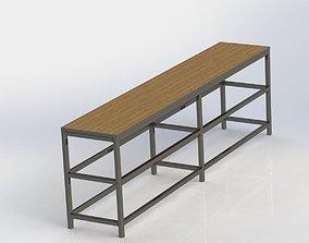 Desk for workshop 3D model