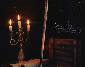 3D printable model Cedric Diggory Wand - Harry Potter