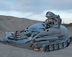 Bulldozer Tank 3D