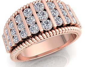 diamond diomand ring 3d model print