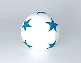 3D model Blue ball