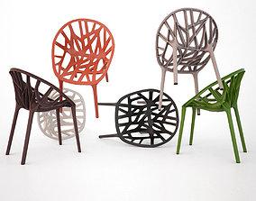 3D model Vitra Vegetal Chair