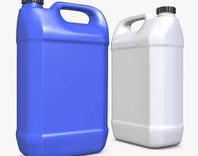 3D Plastic Canister