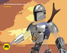 3D print model The Mandalorian - full armor and weapons