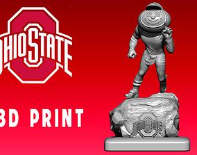 Icon Ohio State Buckeyes football - CNC 3D printable model