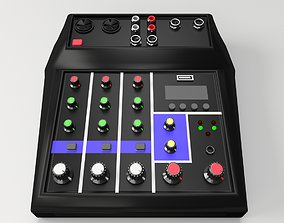 Audio Mixer 3D model
