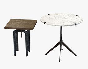 noir and osten tables 3D