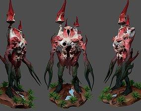 Earth elemental Monster 3D printable model