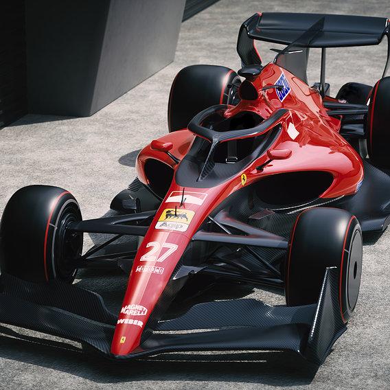 Ferrari F1 2021 Retro
