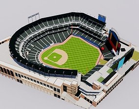 Citi Field - New York Mets Baseball Stadium 3D model