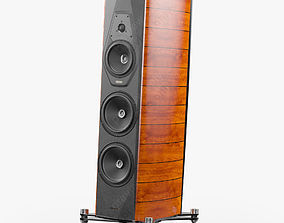 Sonus faber Amati Futura Walnut 3D model