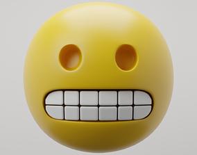 Grimace Emoji 3D model
