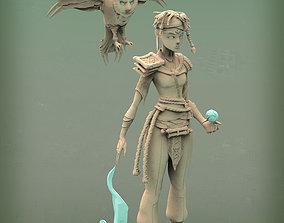 art fantasy wizard 3d print