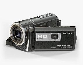 Sony HDR-PJ580 camcorder 3D model