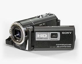 Sony HDR-PJ580 Black 3D model