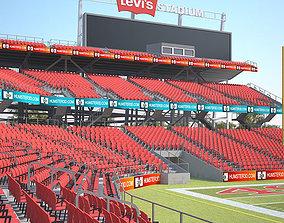 Levis Stadium 3D model