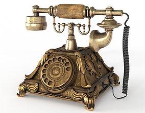 Vintage Phone 3D asset