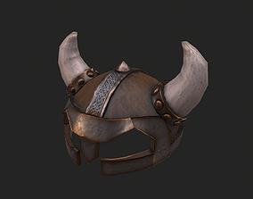 Viking Helmet 3D model low-poly