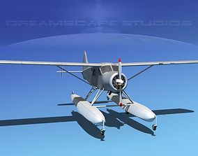 Dehavilland DHC-2 Bare Metal 3D