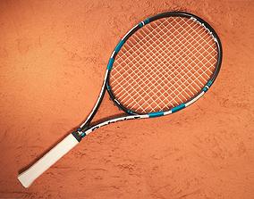game-ready Tennis Raquet 3D Model Babolat