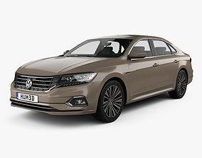 3D model Volkswagen Passat CN-spec 2019
