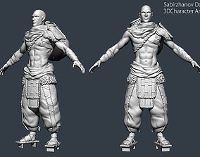 Nomad PBR game character 3D asset
