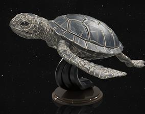 Turtle 3D printable model slow